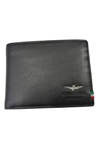 191AM-104 NERO, wallet, milifashion, aeronautica militare men, 1