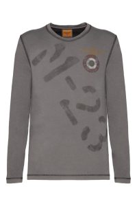 192TS1663J447 34327 GRAPHITE,milifashion, aeronautica militare men, 1