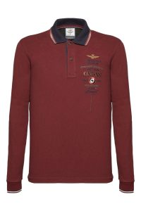 192PO1257P116 19239 ROSSO SCURO, milifashion, aeronautica men, 1