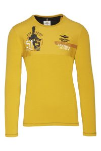 202TS1825J476 57424 GIALLO, milifashion, aeronautica militare men, 1